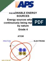 Grade Renewable Energy Sources