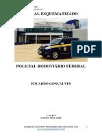 PRF Edital esquematizado