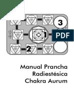 Manual Prancha Radiestésica Chakra Aurum
