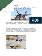 Avanza La Producción Del Avión Argentino IA-63 Pampa III en La Fábrica Argentina de Aviones