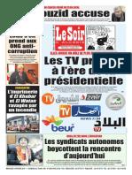 Journal Le Soir Dalgerie 05.02.2019