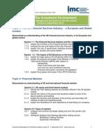 IMC Syllabus Version 8 CFA UK
