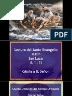 Evangelio San Lucas 5, 1-11.pps