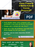 (02) Como Preparar a Minha Aula Da Escola Dominical (1)