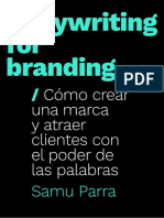 Copywriting for Branding - Extracto