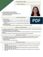 Curriculum Maria Paula