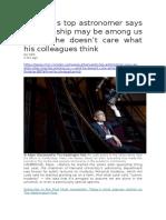 0 Harvard s Top Astronomer Says an Alien Ship May Be Among Us