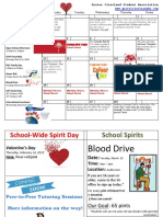 Informational Calendar - February 2019