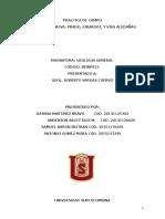 Informe Práctica de Campo Geologia Modificado Para Entregar