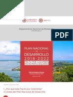 Bases Del Plan Nacional de Desarrollo