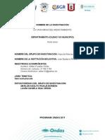 Informe final de investigación 2017 Hijos Macizo Colombiano