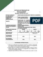 Primer Informe Diciembre 2018, Contrato 119