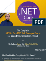 ASP.net Core MVC Web Developer Course - Quick Refrence Guide