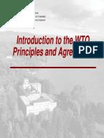 WTO Principles MBA