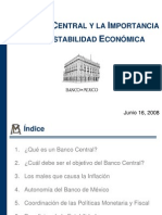 Banca Central  (Material Laura Mendoza SEMS UDG)