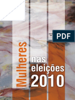 As Mulheres Nas Eleições 2010 - Alves, JED; Celi Pinto; Fátima Jordão (2012)