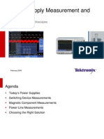 Textronix Power Supply Measurement Guide
