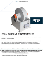 Eddy Current Dynos