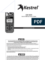 Manual Kestrel 5400