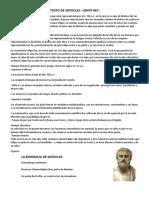 CONTEXTO SOCIAL, CULTURAL Y POLITICO DE LA OBRA EDIPO REY