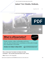 What is a Dissertation_ New Models, Methods, Media _ HASTAC