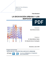 Excavacion Urbana Barcelona