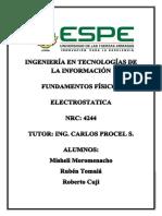 Electroestatica Grupo Mrr.