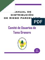Manual de Riego Parcelario Toma Granero