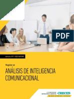 Magíster en Análisis de Inteligencia Comunicacional (Santiago)