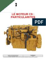 142 S - Le Moteur C9 Particularités