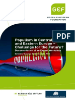 Populism in Central and Eastern Europe