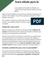 Propiedades Nutricionales Del Pan - Lidl.es