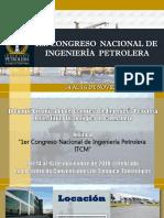 1 Congreso Nacional de Ingenieria Petrolera Itcm-1