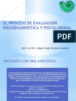 1 El Proceso de Evaluación Psicodiagnóstica y Psicolaboral