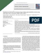 Detecção Simultânea de Dezessete Drogas de Abuso e Metabólitos No Cabelo Usando Micro Extração Em Fase Sólida (SPME) Com GC_MS