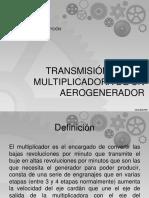 Transmisión o Caja Multiplicadora de Un Aerogenerador