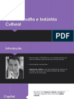 Cultura Erudita e Indústria Cultural - Cópia