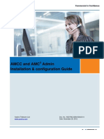 AMCC and AMC+ 2.0 Admin Installation & configuration guide