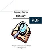 Anders, Marsha a. & Ferrari, Sharon M. - Literacy Terms Dictionary