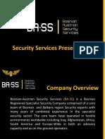 BASS Security Services Presentation Final