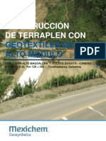 CO MSR 2017 Terraplen K126270 Al K126540 Con Geotextiles de Alto Módulo
