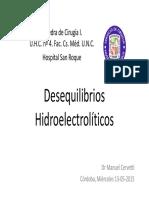 Desequilibrios-Hidroelectrolític