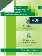 Apostila PEFOCE 2015 - Direito Administrativo