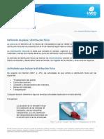 Distribucion de Plazas
