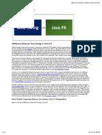 JavaFX Swing