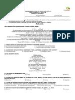Diagnóstico de Español i