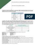 Taller de Nivelacion de Indicadores de II Periodo Quimica Grado Once
