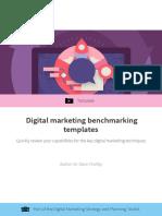 Benchmarking Templates for Digital Marketing Smart Insights