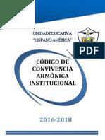 Codigo de Convivencia 2016-2018