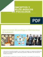 Conceptos y Modelos Básicos en Psicología EXPO